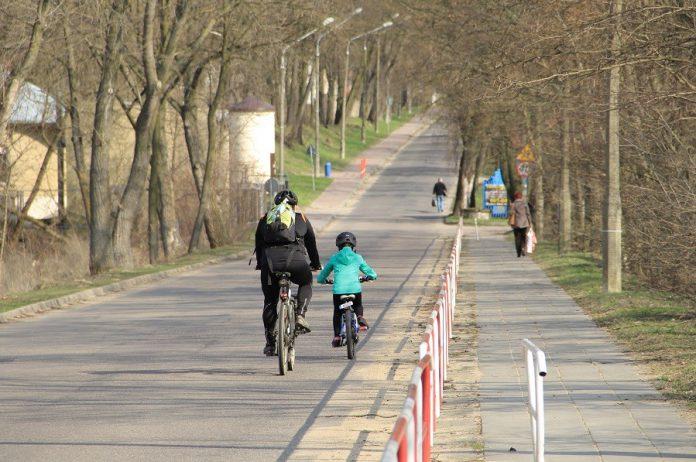 Rowerem nad Zalew Zegrzyńki