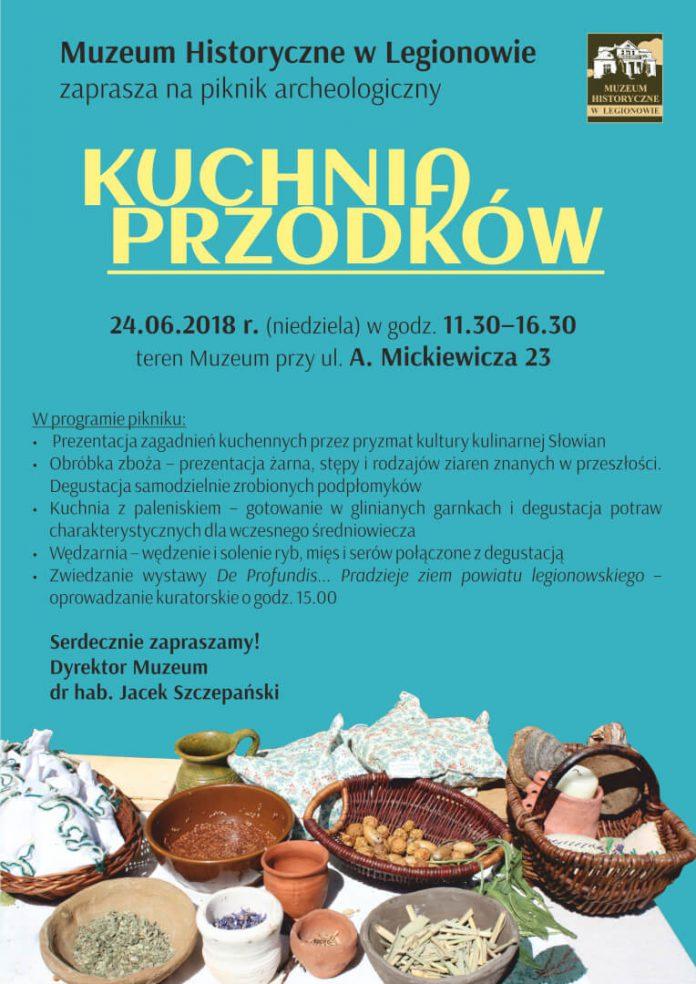 kuchnia przodkow piknik archeologiczny muzeum legionowo