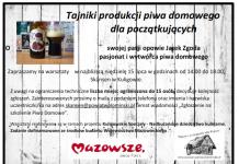 Jarek zgoda o tradycyjnym piwo w Skansenie w Kuligowie nad Bugiem